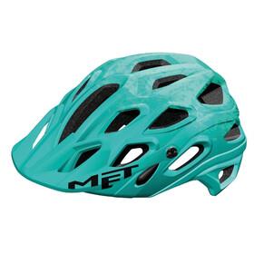 MET Lupo casco per bici turchese